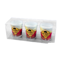 SHOT GLASS, BLOODY L/WAY 3PK (4X)**