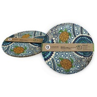 "PLATE, BAMBOO 10"" SET OF 2 C.J. SEA"