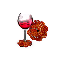 WINE COASTER, LUTHER CORA DRY