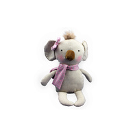 KNIT N PLUSH KOALA PINK STRIPE****