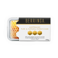 BERRINGA P/NATURAL HONEYCOMB 200 GM